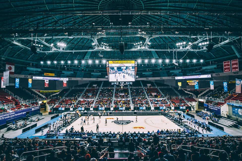 CIAA Basketball Tournament at Bojangles Coliseum