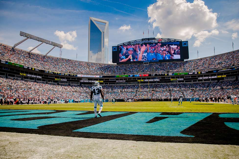 Carolina Panthers at Bank of American Stadium