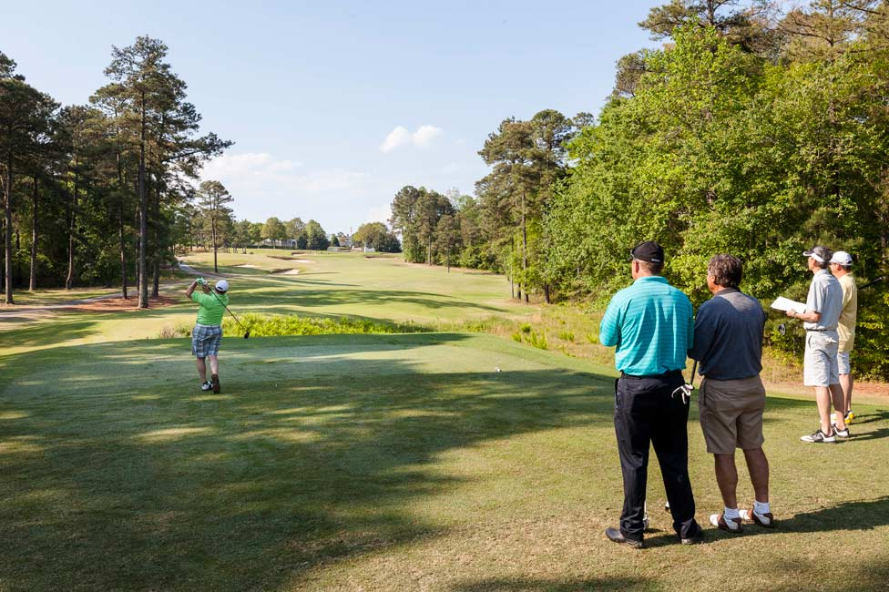 Corporate Sales Incentive Pinehurst Golf Trip