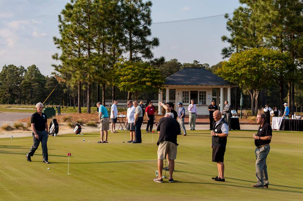 Corporate Sales Incentive Pinehurst Golf Instruction with Hank Haney