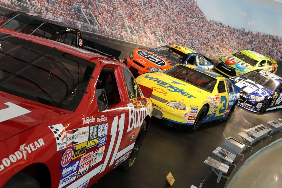 NASCAR Hall of Fame Cars