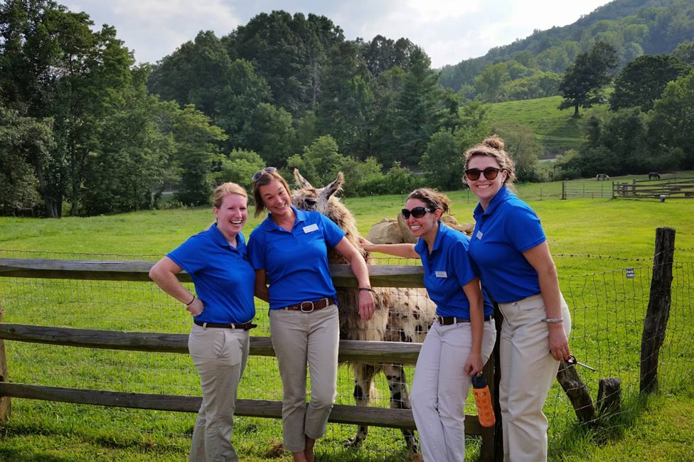 Outdoor Corporate Event Staffing Asheville