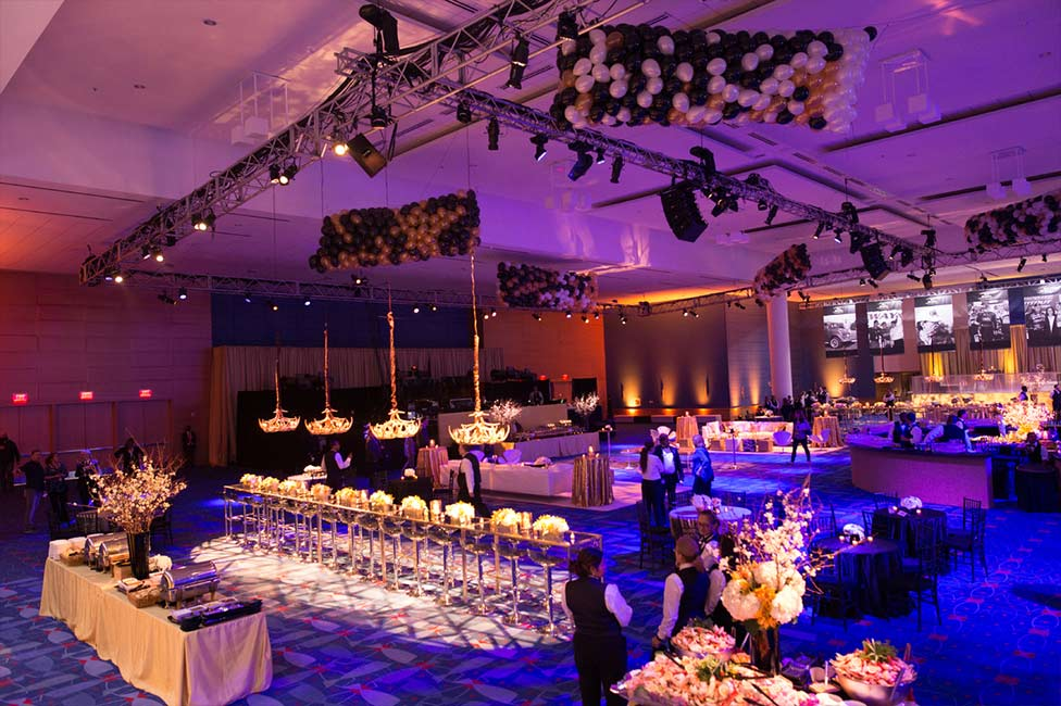 Private event at Charlotte convention center