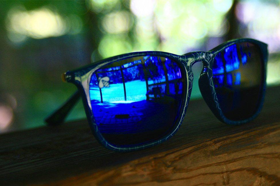 Promotional branded sunglasses