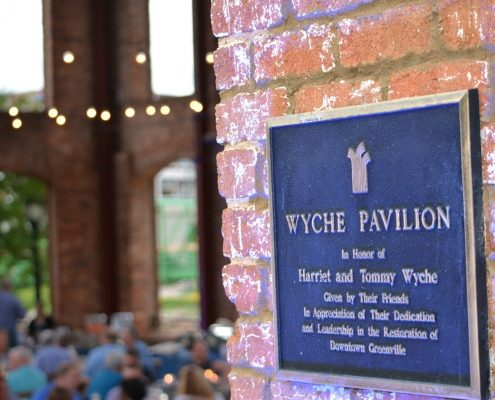 Wyche Pavilion Greenville Corporate Event