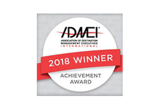 Association of Destination Management Professionals (ADMEI) Achievement Award 2018