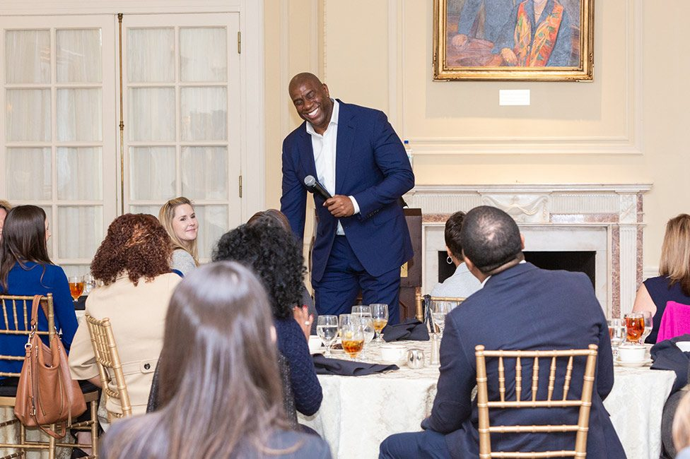 Magic Johnson Speaking Corporate Event Charlotte