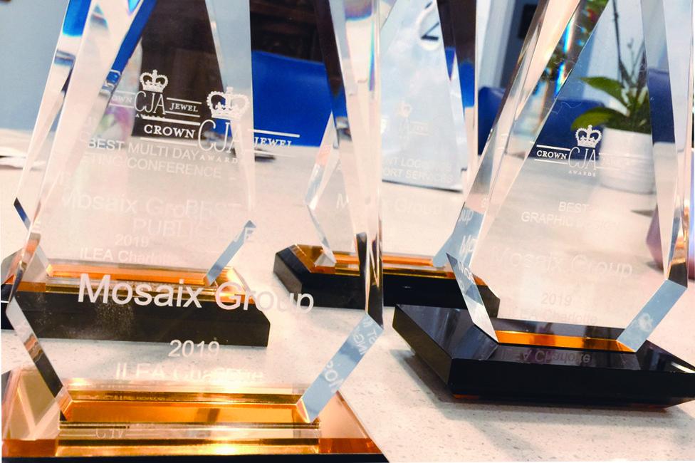 Mosaix Group 2019 International Live Event Association (ILEA) Awards
