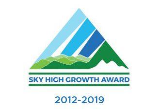 Asheville Chamber of Commerce Sky High Growth Award