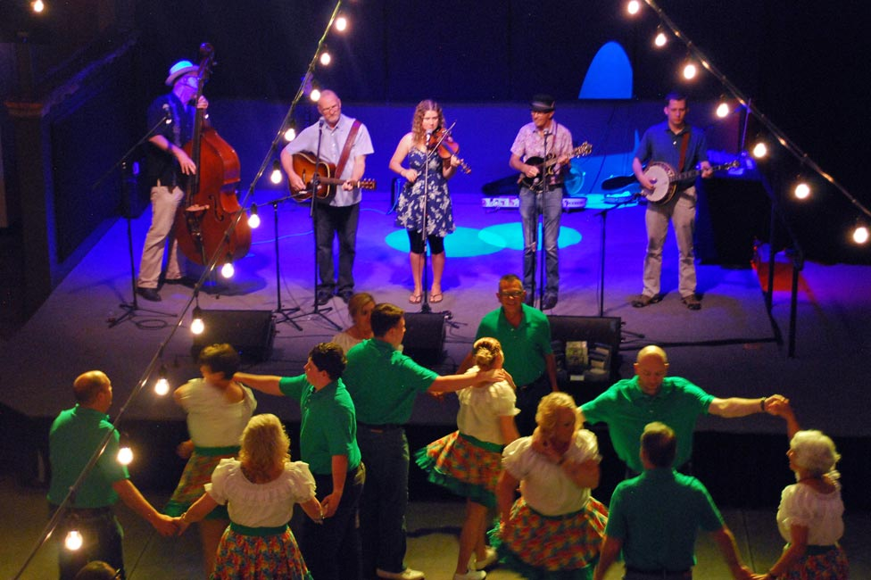 Asheville Bluegrass and Square Dancing