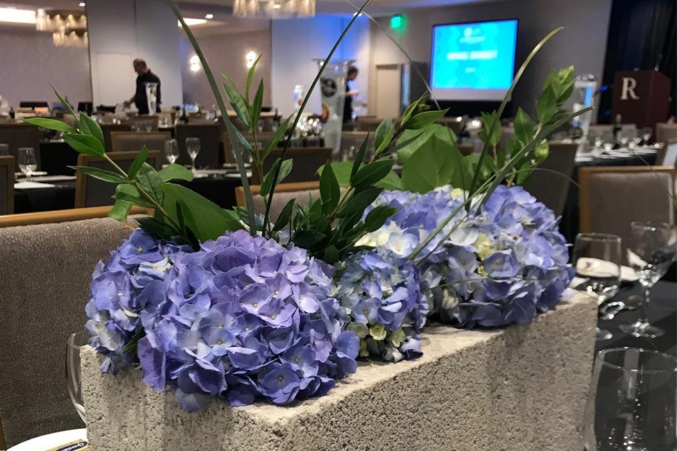 Eclectic Floral Event Centerpieces