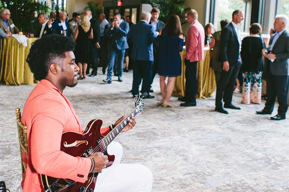 Musical Entertainment for Corporate Cocktail Reception